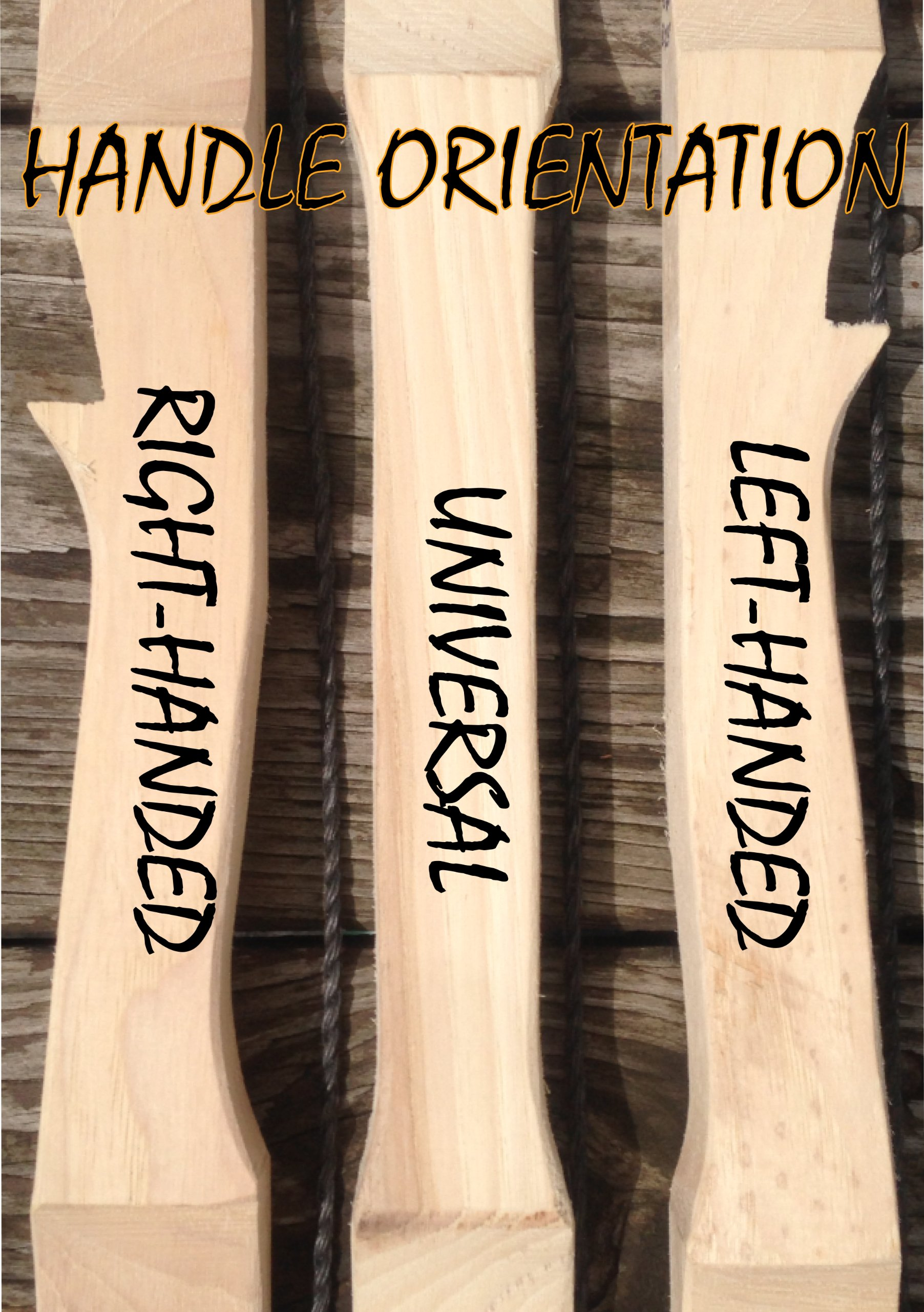 50lb 71'' You-Finish Traditional Hickory Longbow! Competition or Hunting Bow! Wood Archery! by RingingRocksArchery.com (Image #6)