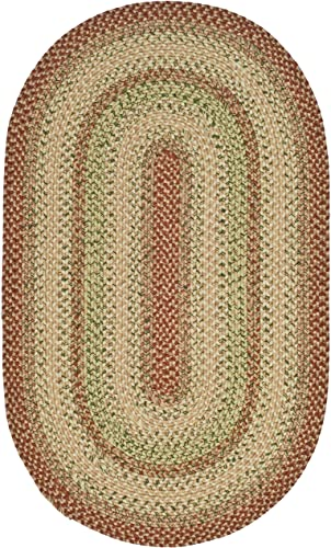 Safavieh Braided collection BRD303A Hand-woven Reversible Area Rug