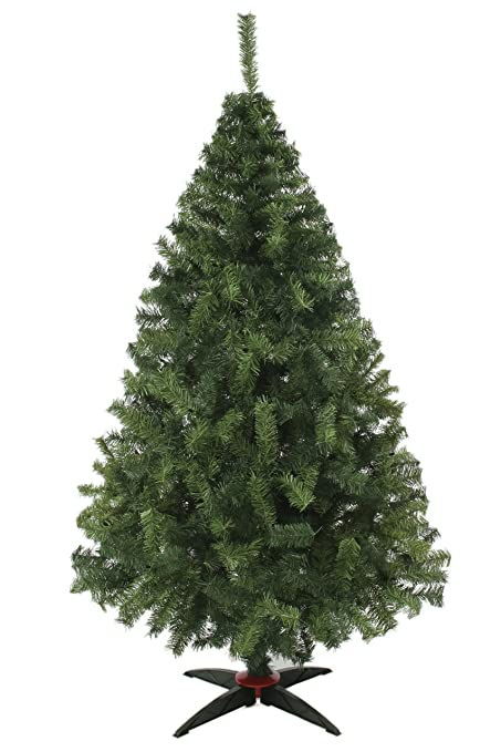 4888649a618 Arbol de Navidad Naviplastic Monarca De Lujo Verde 190cm alt  Amazon ...