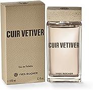 Yves Rocher Fragancia Cuir Vetiver, 100 ml