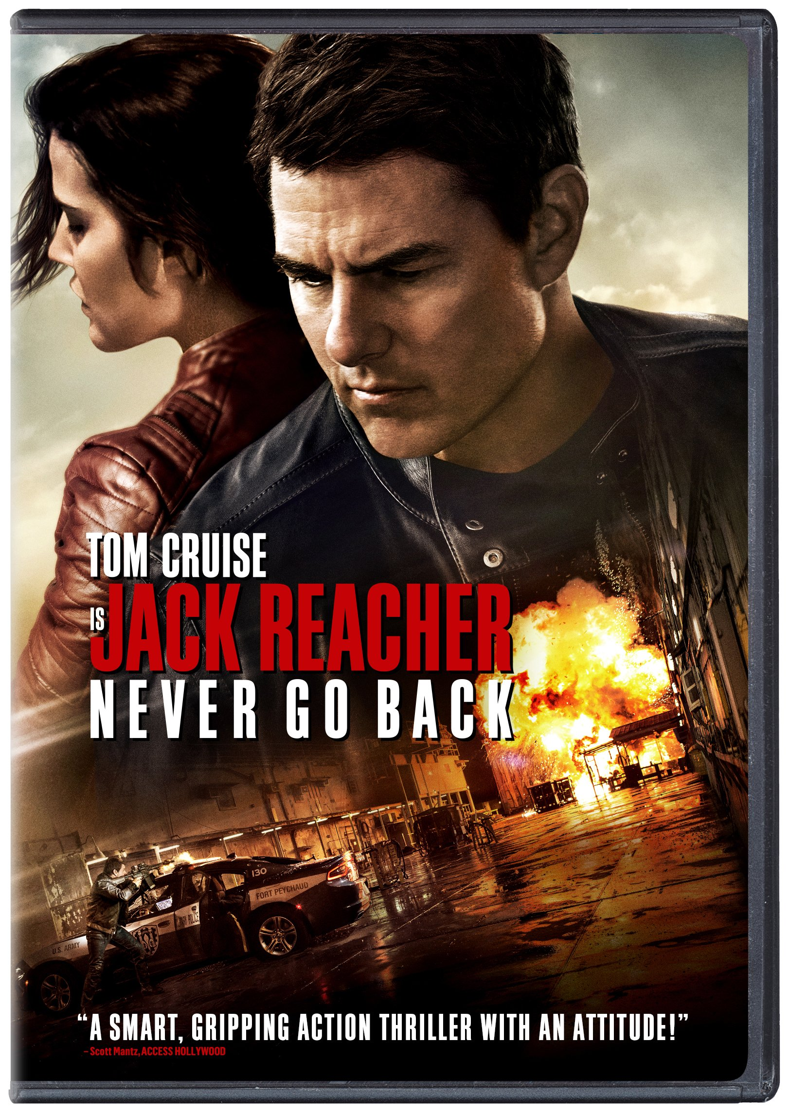 DVD : Jack Reacher: Never Go Back (, Dubbed, Widescreen, AC-3, Dolby)