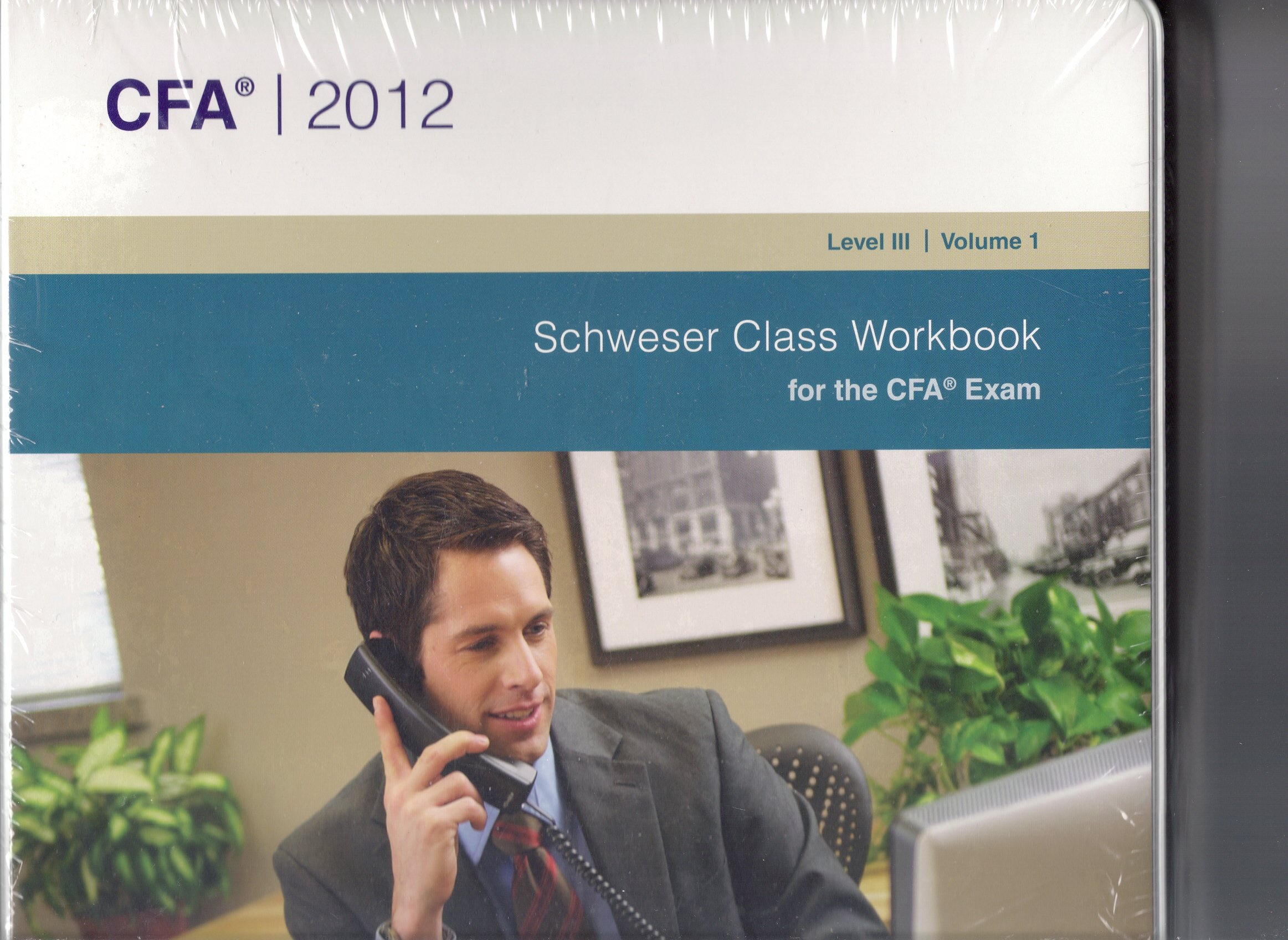 2012 Schweser CFA Level 3 Video Package - 16 Video Cds and