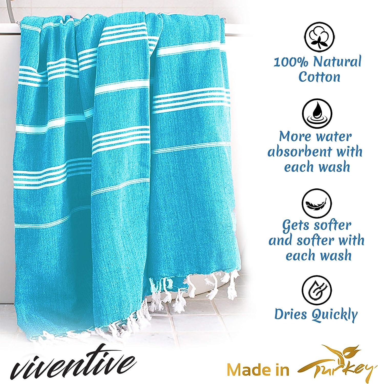 Viventive Turkish Peshtemal Towel