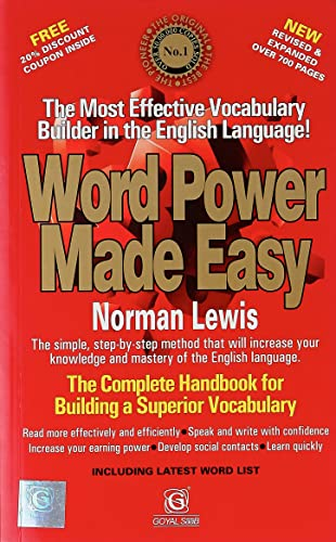 Word Power Made Easy Paperback � Jun 2017