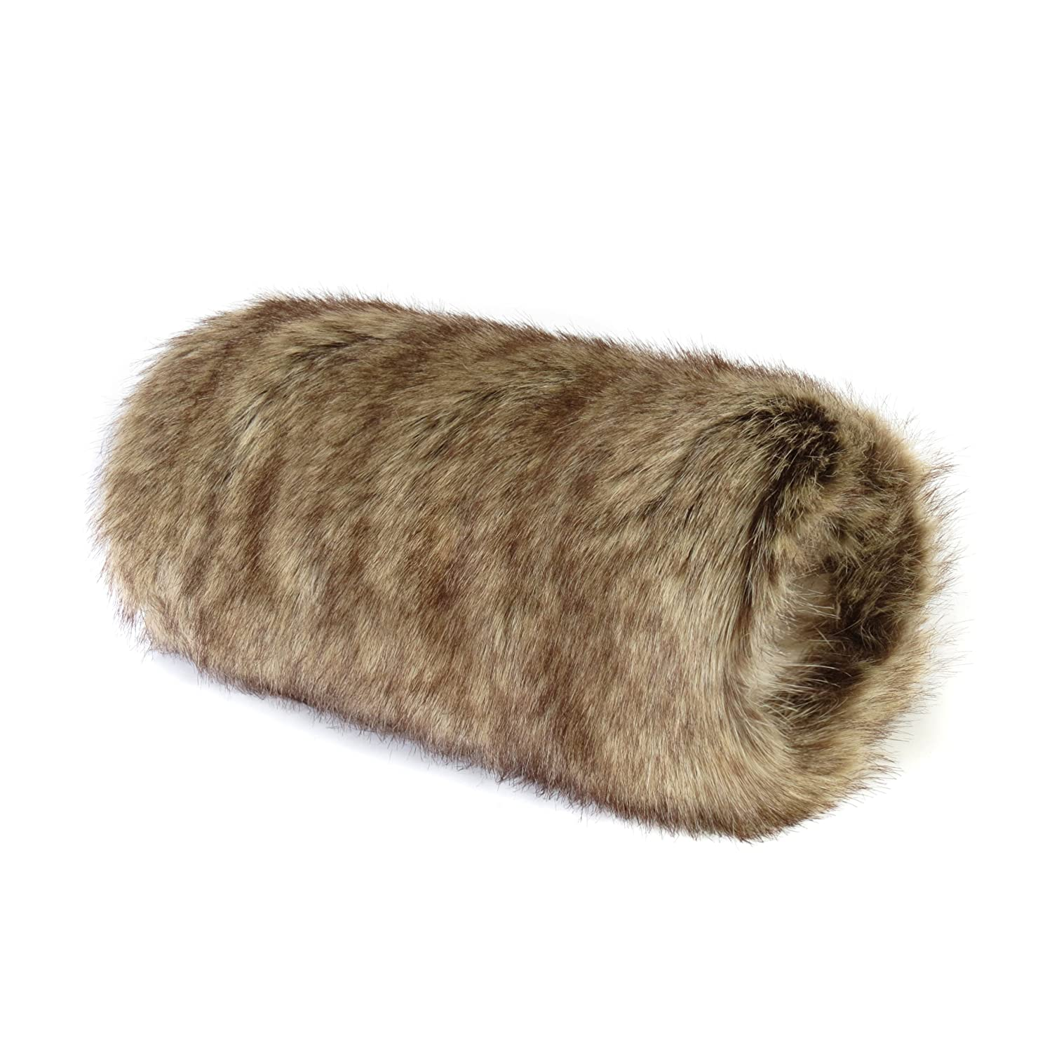 Luxury Faux Fur Muff - Mitten - Glove - choice of fabrics