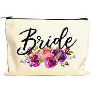 Bride Makeup Bag, Bride Gift, Bride Cosmetic Bag, Engagement Gift, Bride Gift Bag, Miss To Mrs, Bridal Shower, Engagement Gift