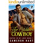 Her Stubborn Cowboy: Older Man/Younger Woman Romance (Roped in by Love Book 1)