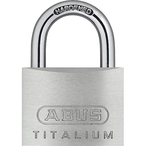 ABUS H16 56217 Cadenas à clé extérieur Titalium ABU54TI50