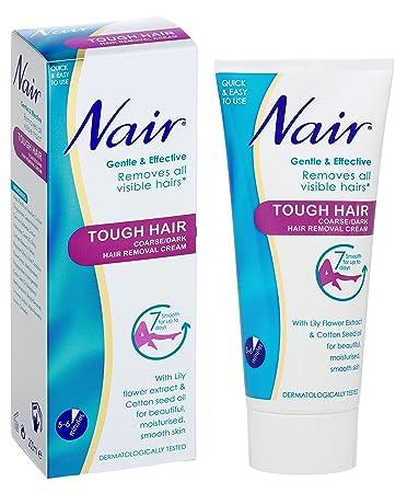 Amazon Com Nair 200ml Tough Hair Coarse Hair Removal Cream Baby