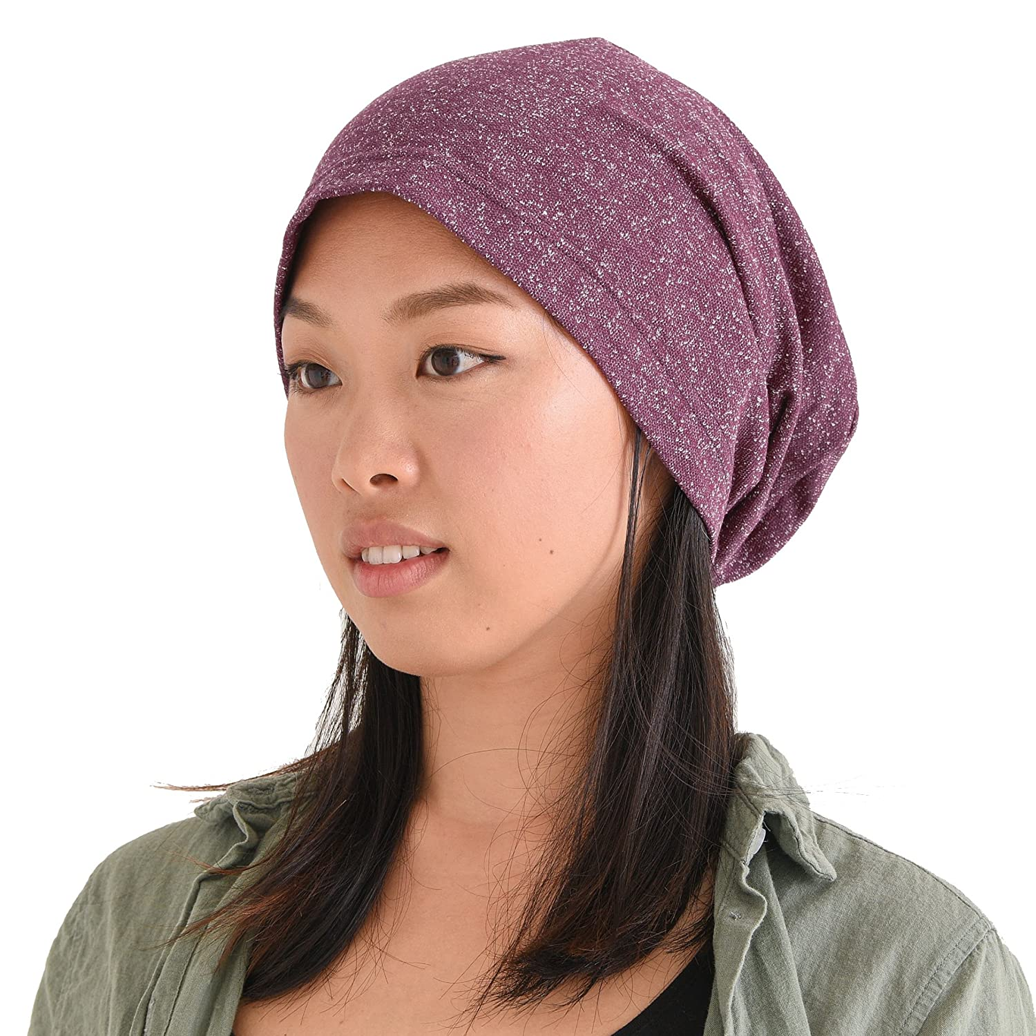 CHARM Casualbox | Oversized Beanie Hat - Super Slouchy - Big Slouch Baggy Men Women 4589777966765
