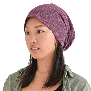 521304e9 CHARM Mens Oversized Beanie Hat - Womens Slouch Beanie Big Summer Slouch  Cap Baggy Hipster Hats