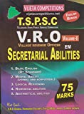 TSPSC VRO (Village Revenue Office) VOL-II Secretarial Abilties (75 marks)