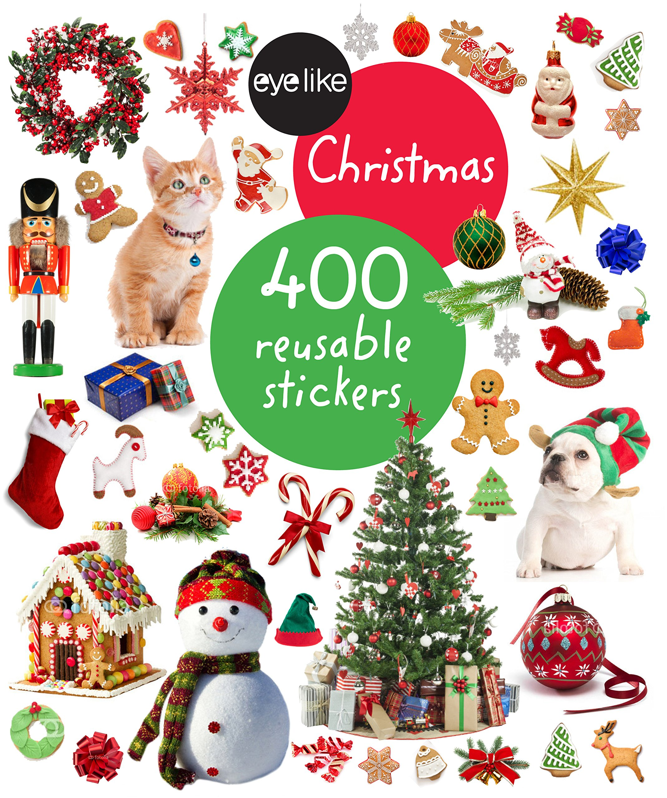Eyelike Stickers: Christmas PDF