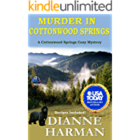 Murder in Cottonwood Springs: A Cottonwood Springs Cozy Mystery (Cottonwood Springs Cozy Mystery Series Book 1)