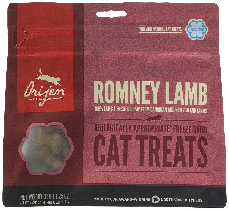 Origen - Orijen Romney Lamb Gato Treats - 550 - 35 Grs: Amazon.es: Productos para mascotas