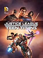 DC Justice League vs Teen Titans