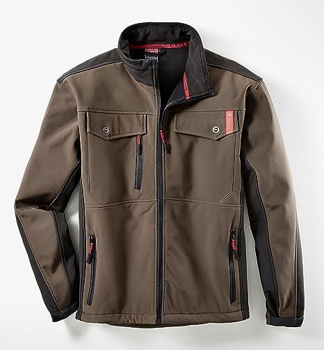 Canadian Line 60636 - 4 x l-2810 tamaño 4 X -LARGE Softshell chaqueta - marrón/negro: Amazon.es: Bricolaje y herramientas