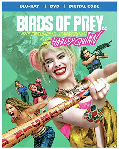 Amazon Com Birds Of Prey Blu Ray Dvd Digital Cathy Yan Christina Hodson Walter Hamada Margot Robbie Bryan Unkeless Galen Vaisman Sue Kroll Geoff Johns Hans Ritter David Ayer Margot Robbie Mary