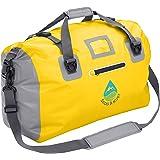 DuffelSak Waterproof Duffel Bag | 500D PVC | 40L & 60L Sizes | Welded Seams, Carry Handles, Shoulder Straps, Inner Zip Pocket, 2 Splash Proof Outer Zip Pockets & Reflective Trim