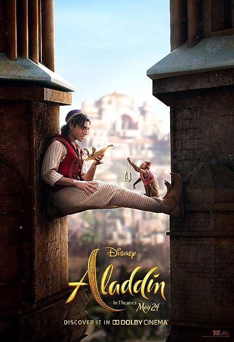 Newhorizon Aladdin 2019 Movie Poster 17 X 24 Not A Dvd