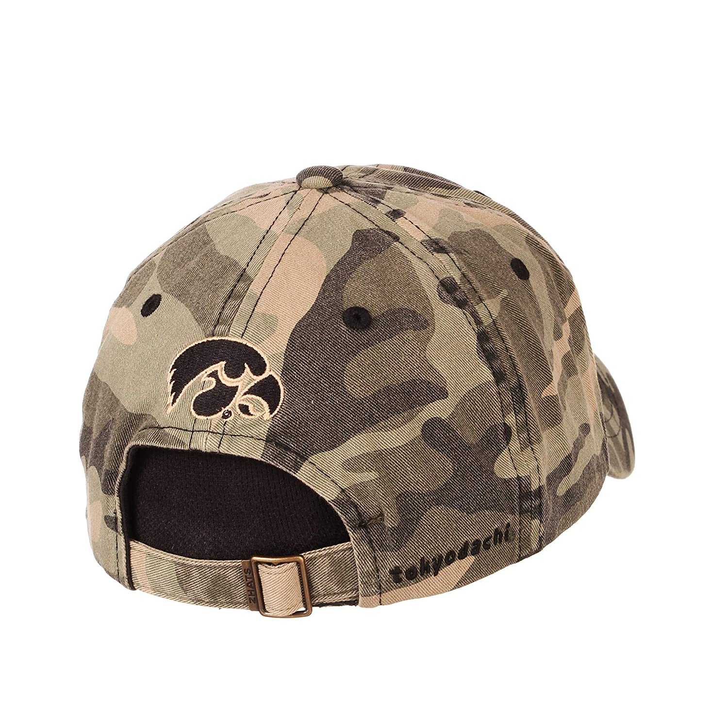 Camo Adjustable NCAA Zephyr Iowa Hawkeyes Mens Hayashi Relaxed Hat