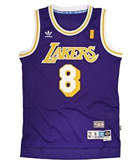 2182754d0 Kobe Bryant Los Angeles Lakers Adidas NBA Throwback Swingman Jersey - Purple