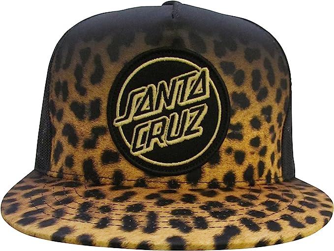 Santa Cruz Leopardskin Fade Cap - Gorra para Hombre, Color, Talla ...