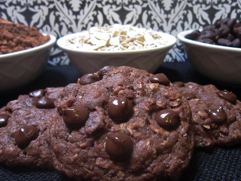 Chubby Bebés doble chocolate Oatmeal Lactancia Cookie Mix ...
