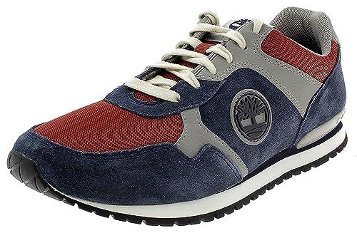 Timberland Schuhe Herren Billig   Timberland Retro Runner Rot