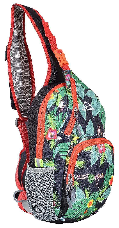 3caf49ff96ae 80%OFF Hopsooken Shoulder Sling Crossbody Bag Lightweight Waterproof ...