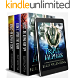 Triple Alphas: A 3 Book Werewolf Romance Bundle