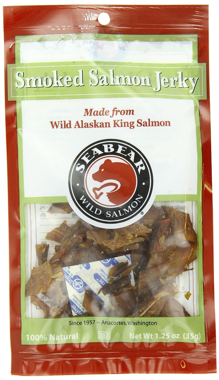 SeaBear Smoked Salmon Jerky, 1.25 Ounce Unit