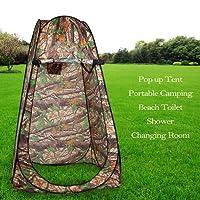 FORIN Portable Pop up Zelt Camping mit Tasche WC Dusche Umkleidekabine im Freien