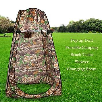 Cabina Doccia Da Campeggio.Forin Portable Pop Up Tenda Da Campeggio Con Tasche Wc