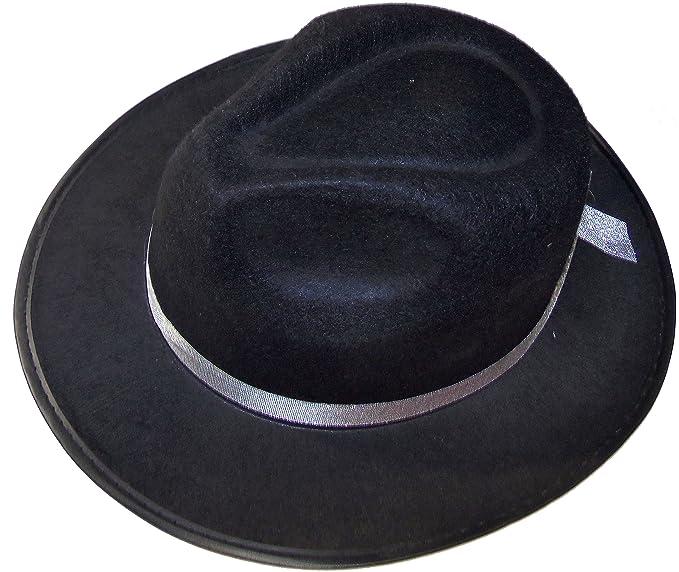 Amazon com: Cowboy Hat Black Montana Gus Style Creases Black