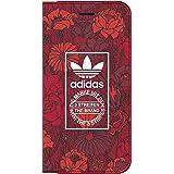 (アディダスオリジナルス)adidas Originals iPhone7ケース 手帳型 PUレザー ボヘミアン・レッド