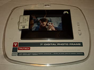 Amazoncom 7 Digital Photo Frame With Frame Electronics