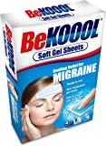 Be Koool Cooling Relief For Migraine Soft Gel Sheets 4 Each