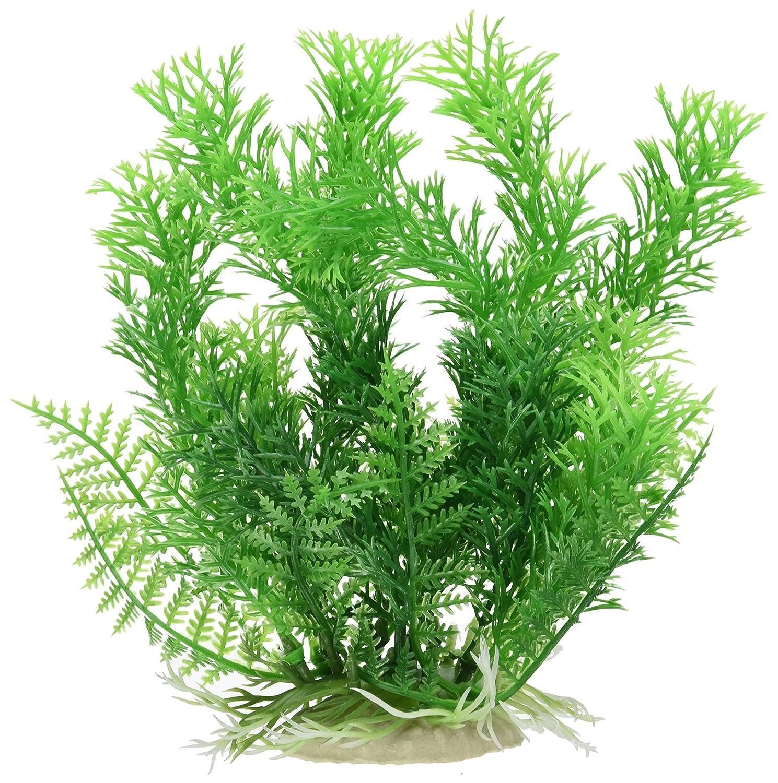 Sourcingmap - Aqua Paisaje Fish Tank plástico Planta para Betta, 17 cm, Color Verde: Amazon.es: Productos para mascotas