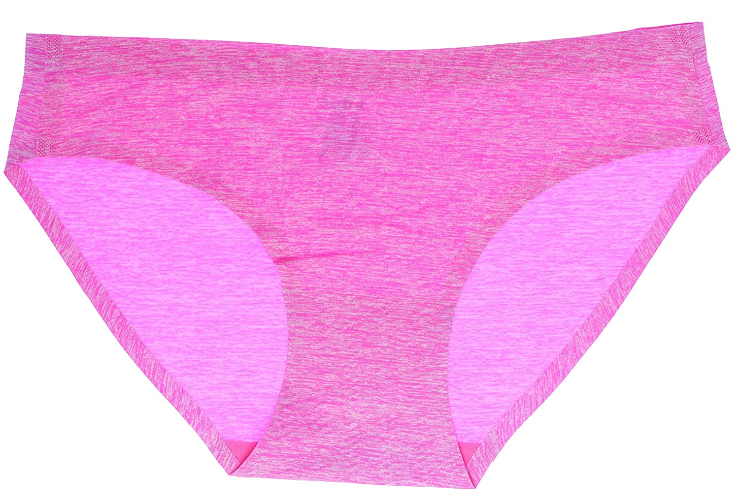 3 Pair Sofra Womens Seamless Heathered Full Bikini Underwear Panties