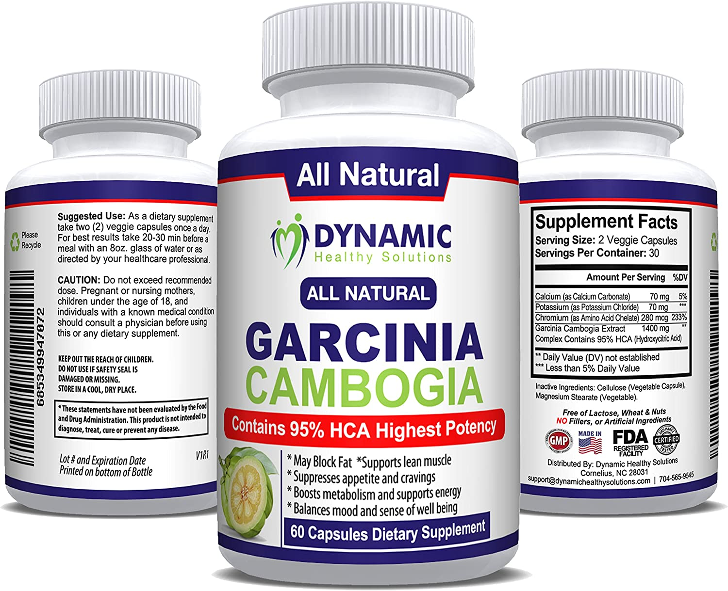 recommended dosage for garcinia cambogia