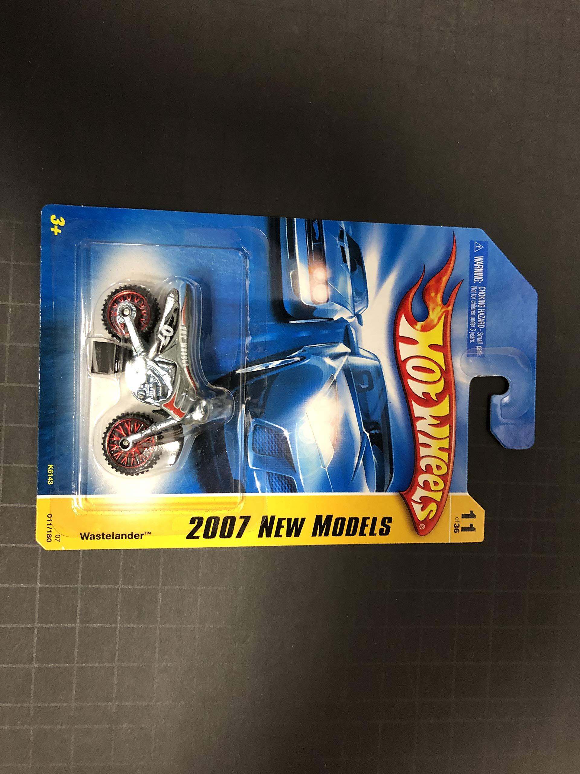 Wastelander Dirtbike Silver Color 2007 New Models 11 of 36 Hot Wheels diecast car No. 011