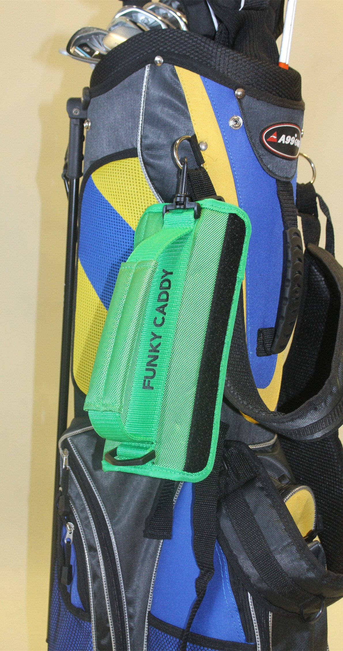 C12 A99 Golf Funky Caddy Golf Bag Driving Range Carrier Sleeve Light with velcro by A99 Golf (Image #3)