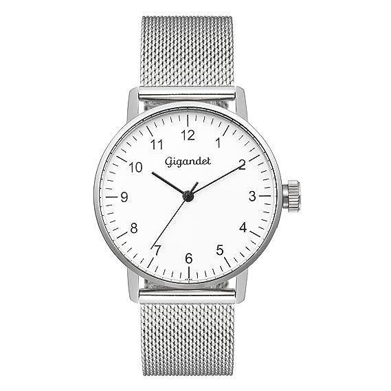 Gigandet Minimalism Reloj Mujer Analógico Quartz Plata G27-005: Gigandet: Amazon.es: Relojes