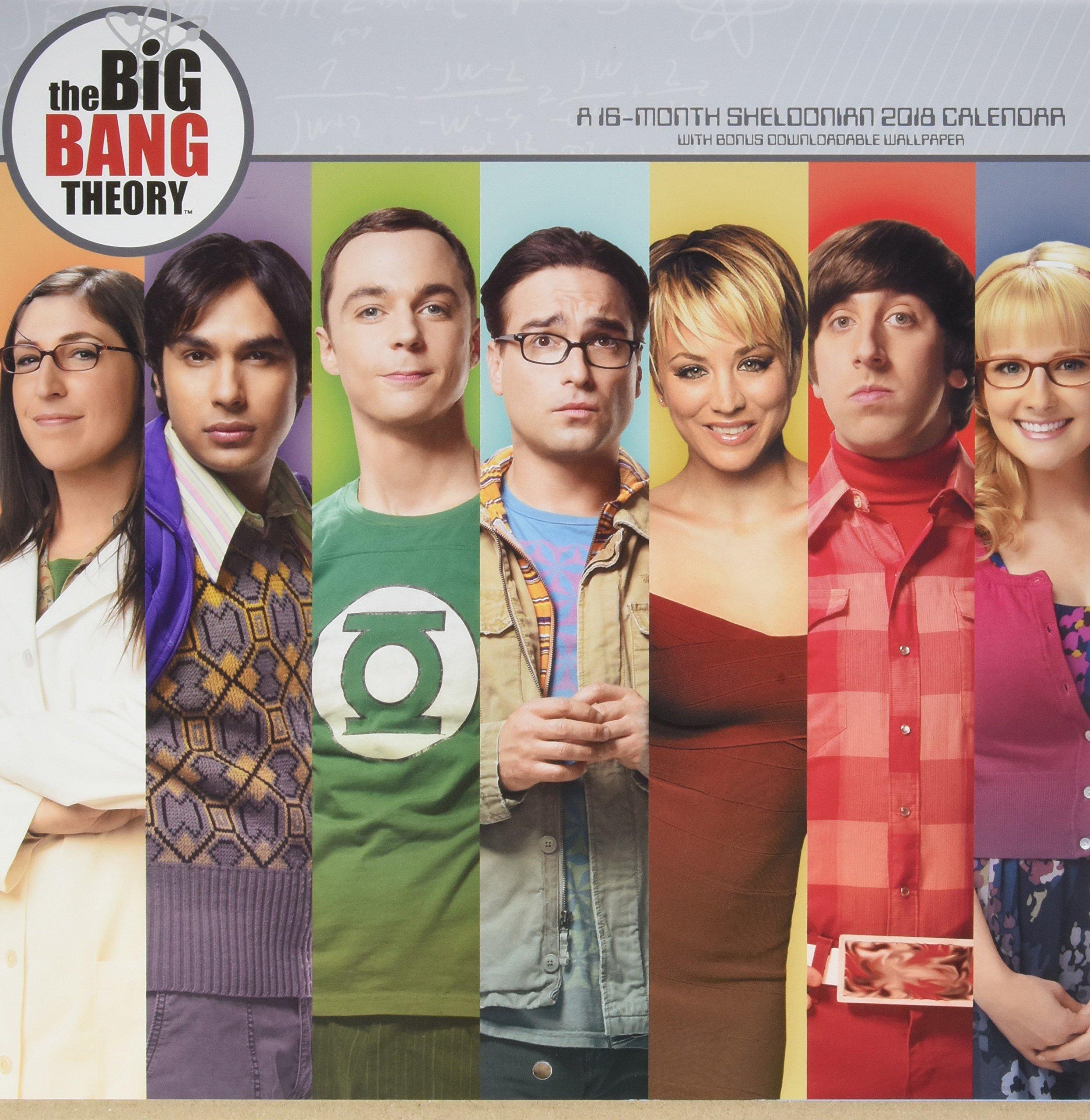 Amazon Com The Big Bang Theory 2018 Calendar With Bonus
