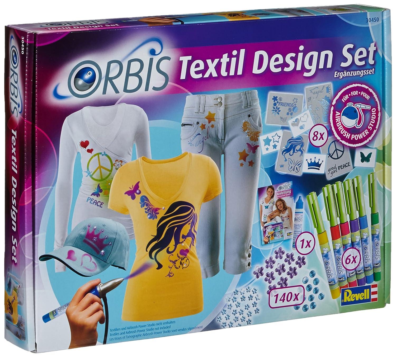 orbis airbrush orbis textil design set textilfarbset. Black Bedroom Furniture Sets. Home Design Ideas