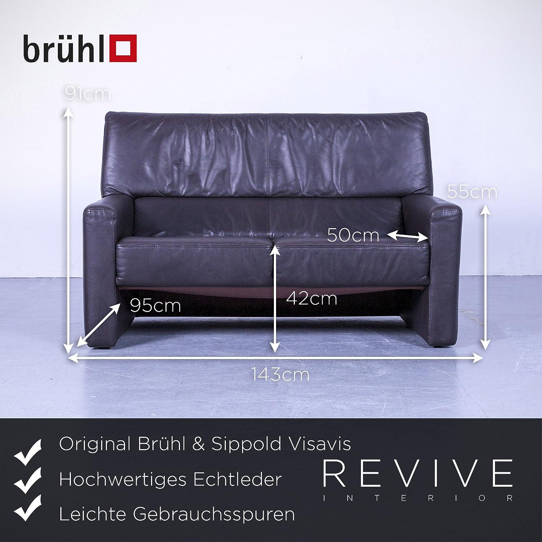Fesselnde Brühl Und Sippold Dekoration Von Concept.de: Brühl & Visavis Designer Leder Sofa