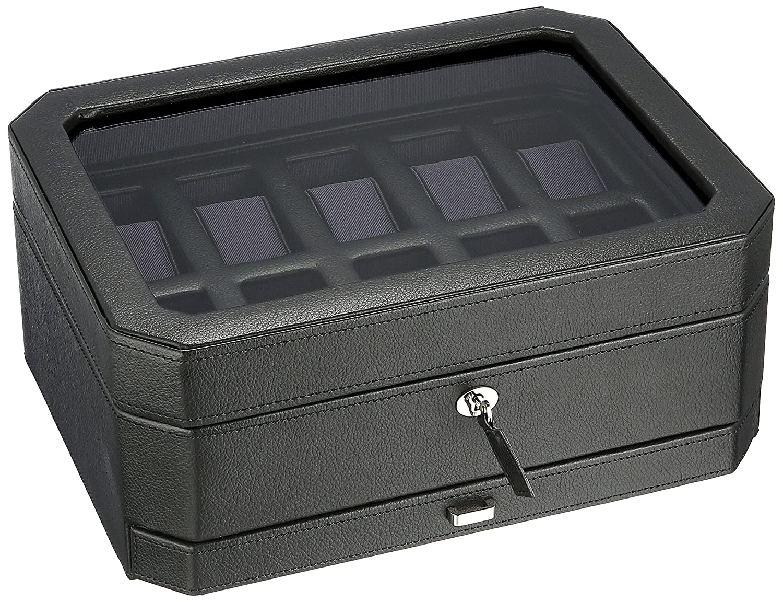 Wolf 10-teiliges Uhren-Box mit Schublade – 458603