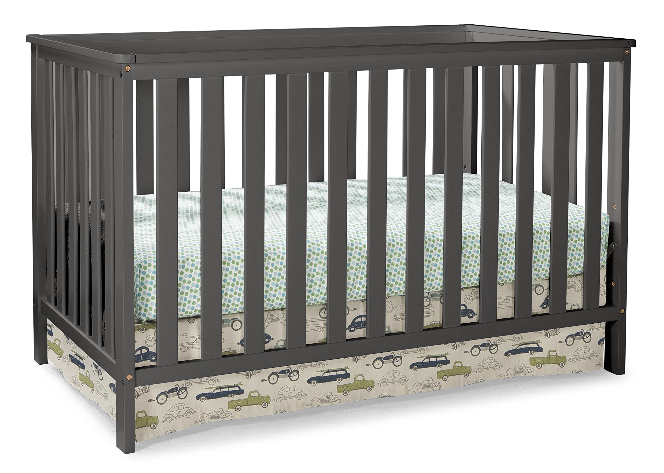 Storkcraft Rosland 3-in-1 Convertible Crib - Gray