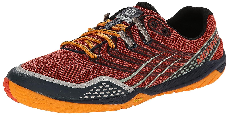 Merrell Herren Trail Glove 3 Traillaufschuhe, Schwarz  50 EU|Orange (Spicy Orange/Navy)